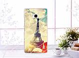 Чехол накладка силиконовая для Nokia Lumia 930 с картинкой щит капитана америка, фото 7
