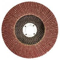 Круг лепестковый торцевой WERK 125*22 (P80)