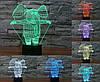 Нічник 3D-світильник Pets Elephant, фото 2
