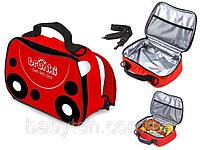 Детская термосумка рюкзак 2 в 1 Trunki Harley Божья Коровка TRUA0291