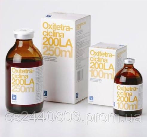 Окситетрациклин 200(20%) инекц. Р-р 100мл (инвеса), цена 165 грн.