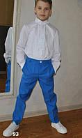 Рубашка на мальчика с кружевом 93