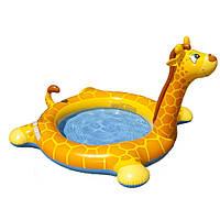 """Детский надувной бассейн Intex 57434 """"Жираф"""" с фонтаном"""