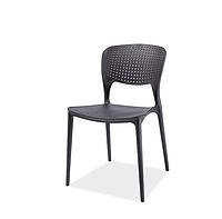 Пластмассовый стул Axo черного цвета