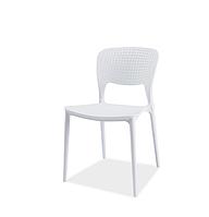Пластмассовый стул Axo белого цвета