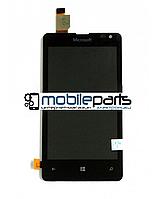 Оригинальный Дисплей (Модуль)+Сенсор (Тачскрин) для Microsoft 435 | 532 Lumia Dual Sim (Черный)