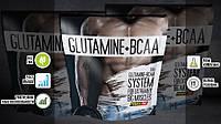 Аминокислотная смесь Glutamine + BCAA, 500 гр