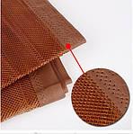 Москитная штора (сетка) на магнитах нового поколения цвет коричневый, фото 2