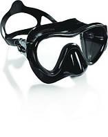 Маска для плавания Cressi Sub Piuma Evolution; чёрная кресси саб пьюма подводной охоты дайвинга снорклинга
