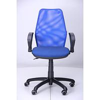 Кресло Oxi АМФ-4, сиденье Квадро-20, спинка Сетка синяя (AMF-ТМ)