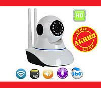 IP WiFi камера X8100 с удаленным доступом. Отличное качество. Практичная и универсальная камера. Код: КДН1775