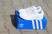 Женские повседневные кроссовки Adidas ZX Flux белые