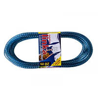 Веревка для белья 20м с металлом 001041 Медфар