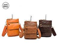 Поступление в продажу небольших мужских кожаных сумок Marrant