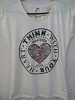 """Женская футболка """"Сердце"""""""