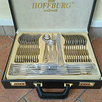 Набор столовых приборов Hoffburg HB 7755 G 72 предмета, фото 1