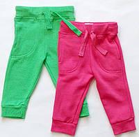 Комплект из двух брючек флис начес для девочки штаны рост 62-68 impidimpi Германия
