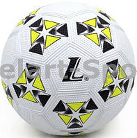 Мяч для футбола Lanhua Yellow (размер 4, для игры на асфальте)