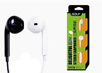 Наушники с микрофоном Golf Stereo M1