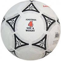 Мяч для футбола Lanhua Black (размер 4, для игры на асфальте)