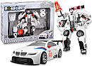 Робот-трансформер - BMW - MW GT2 (1:32) 52120 r, фото 5