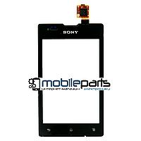Оригинальный Сенсор (Тачскрин) для Sony C1503 Xperia E | C1504 | C1505  | C1604 Xperia E Dual | C1605 (Черный)