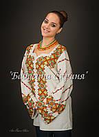 Заготовка жіночої сорочки для вишивки нитками/бісером БС-92, фото 1