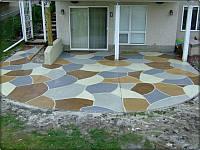 Покрытие для бетона декоративно-защитное