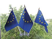 Флажок Евросоюза на присоске., фото 1
