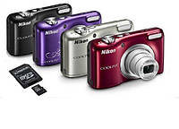 Фотоаппарат Nikon COOLPIX A10 + карта памяти 8GB