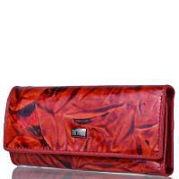Женская кожаная ключница-кошелек WANLIMA (ВАНЛИМА) W72091870600-red