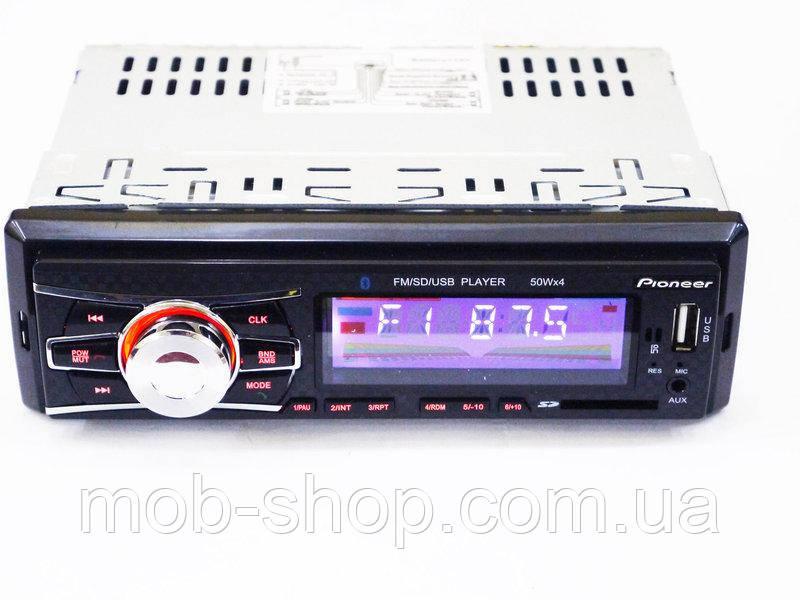 Автомагнитола пионер Pioneer 6083 Bluetooth+MP3+FM+USB+SD+AUX