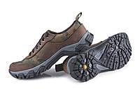 Коричневі кросівки для риболовлі та полювання, фото 1