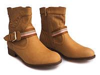 Осенние ботинки с перфорацией