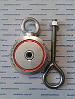 Поисковый двусторонний неодимовый магнит на 120 кг Редмаг