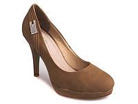 Коричневого цвета женские туфли , фото 1