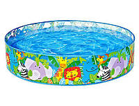 """Детский надувной бассейн Intex 58474 """"Саванна"""""""