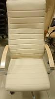 Кожаное кресло ИРИС Новый стиль