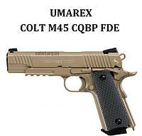 Пневматический пистолет Umarex Colt M45 CQBP FDE, фото 1