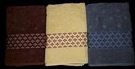 Комплект полотенца Элегант 500г/м2 Узбекистан  10 шт.  хлопок (С.У.9.2.)
