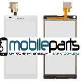 Оригинальный Сенсор (Тачскрин) для Sony C2105 | S36h | Xperia L (Белый)