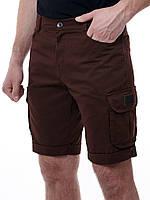 Короткие мужские шорты F&F Laguna, коричневые