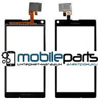 Оригинальный Сенсор (Тачскрин) для Sony C2105 | S36h | Xperia L (Черный)