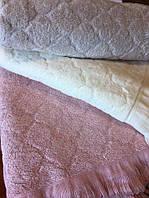 Полотенце  70х140  AMORY  молочный   (70% бамбук  + 30% хлопок)