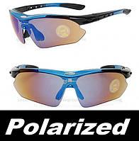 Поляризованные велоочки Rockbros UV400 велосипедные спортивные очки