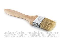 Малярная кисть деревянная Польша 50 мм