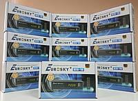 Цифровой DVB-T2 видео тюнер приставка Eurosky ES-15
