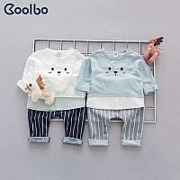 Костюмчик детский с штанишками в полоску