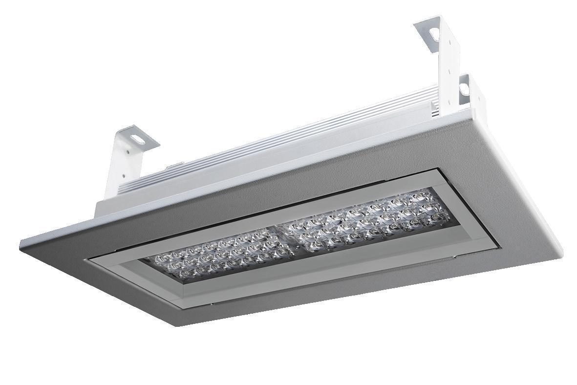 Светодиодный светильник для АЗС LedLife Tetris 80W 8000Lm 5500К
