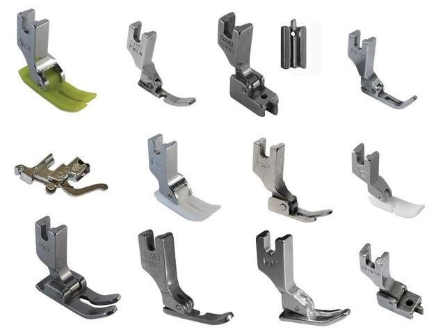 Лапки, приспособления, средства малой механизации для промышленных швейных машин